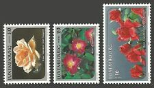 Flowers Luxembourg Stamps