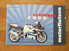 S168A SUZUKI BROCHURE PROSPEKT 2000 ALL MODELS DUTCH 76 PAGES,RM250,DR-Z,SV