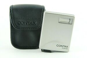 【Excellent+3 w/ Case】 Contax TLA 140 Shoe Mount Flash For G1 G2 From JAPAN #c550