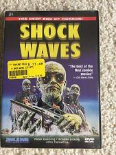 Shock Waves (DVD, 2003) VERY RARE 1976 HORROR W INSERT