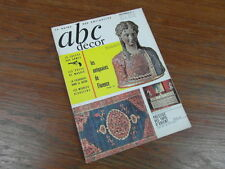 REVUE ABC ANTIQUITES 1965 No11 PUCES MADRID meubles alsaciens ANTIQUAIRE FLORENC