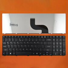 Replacement Black UK Layout Laptop Keyboard for ACER AS5741G