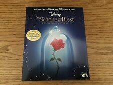 Beauty And The Beast 3D Blu-ray Digibook C.E. Region All Germany DTS 7.1 English