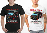 The A-Team Van T-Shirt Funny 80's TV Show TShirt Mr-T  Adult & Kids Tee Top