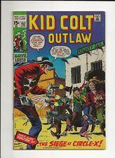 KID COLT OUTLAW #153 1971 MARVEL WESTERN VG