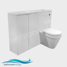 MyPlan 1200 Slimline Basin & Top Arctic Gloss White Furniture  Set   RRP: £699