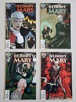 Bloody Mary 1 2 3 4 1996 DC Helix Garth Ennis Set Series Run Lot 1-4 VF/NM