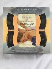 Hot Stone Massage Therapy A Guide to the Total Mind-Body Experience Book & Kit