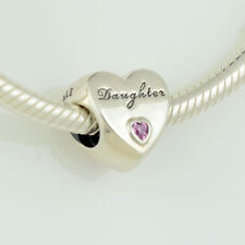 Genuine PANDORA Daughter's Love Charm Cubic Zirconia Silver 791726PCZ