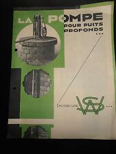 catalogue - pub - moteur - pompe ( ref 19 )
