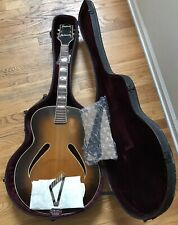 Vintage Gretsch Synchromatic 200 Archtop Acoustic Guitar Lifton Hard Shell Case