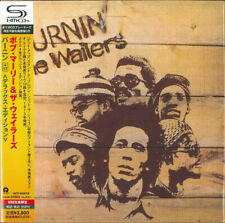 B MARLEY & THE WAILERS, BURNIN', LTD DLX ED 2 x SHM-CD, JAPAN 2010, UICY-94587/8