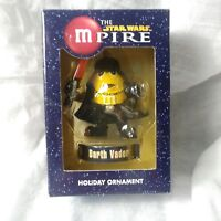 M&M'S THE STAR WARS M-PIRE DARTH VADER YELLOW M&M NEW Christmas ORNAMENT