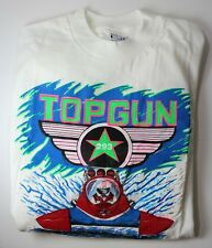 Top Gun 293 XL 46-48 Hanes Budweiser Racing VINTAGE Texturized Neon Shirt