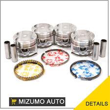 Fit Acura Integra Honda ZC P29 1.6 Liter D16A1 Pistons w/ Rings
