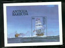 Antigua Barbuda #749 S/S  Sailimg Ships British Man of War Transport  Vessel