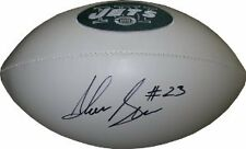 Shonn Greene Autographed Jets Team Logo Football