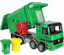 Click N' Play Friction Kids Garbage Truck Toy Recycle Vehicle Trash Can Bin Gift