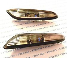BMW 1 / 3 / 5 SERIES X3 SIDE WING INDICATORS LIGHT REPEATERS LAMP PAIR - SMOKED