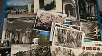 21 Vintage Postcards, 2 Souvenir Booklet Folders, 3 Film Slides, European & USA
