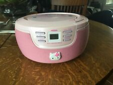 Pink hello kitty Cd player/radio