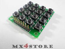 4 x 4 Keypad Keyboard Tastatur Matrix 8pin Modul Arduino STM32 235