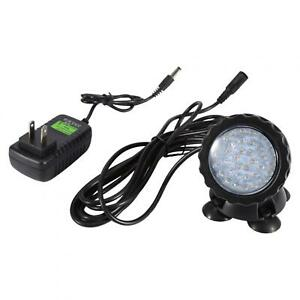 Pond Light Waterproof IP68 Submersible Remote RGB Color Changing With 36-LED