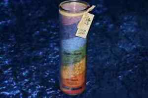PALM LIGHT Palmwachs-Windlichter Chakra Multicolor