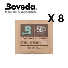 Neu Boveda 8 Gramm 58% Humidipack - 2 Weg Feuchtigkeit Kontrolle (8 X 8g)