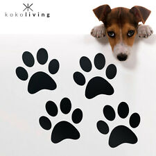 4X Dog Cat Paw Print Vinyl Stickers Decals for Home Wall Car Ute Kennel 3 Sizes