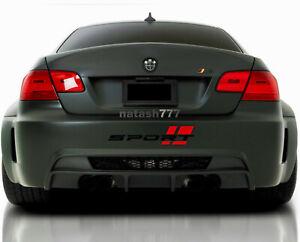 SPORT Bumper Vinyl Decal Sticker Performance Motorsport Racing Car Emblem logo 1