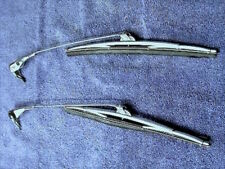 MERCEDES 190SL 121  Windshield Wiper Arms & Blades  L&R New  Nice  120 824 02 28