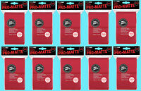 1000 ULTRA PRO RED PRO-MATTE STANDARD SIZE DECK PROTECTORS Card Sleeves MTG