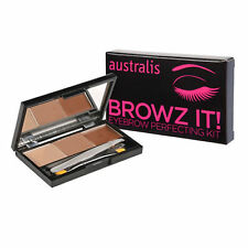 NEW Australis Browz It Eyebrow Perfecting Kit Makeup Shaping Set