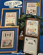 """Stoney Creek Collections """"Dear Lord"""" Counted Cross Stitch Leaflet"""