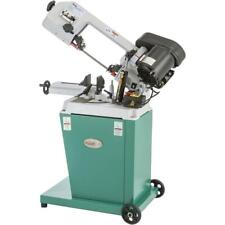Grizzly G9742 110v 5 Inch X 6 12 Inch Hp Metal Cutting Bandsaw With Swivel Head