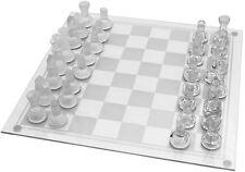Media tradizionali a scacchi in vetro Gioco da tavolo Set bellissimo regalo 32 PEZZI Divertente Party