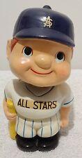 MICKEY MANTLE #7 ALL STAR VINTAGE BOBBLEHEAD NODDER BANK.