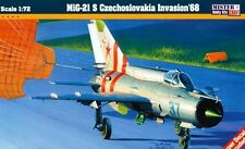 MiG 21 S TYPE 15 CZECHOSLOVAKIA INVASION 68 (SOVIET AF MKGS)  1/72 MISTERCRAFT