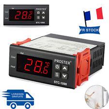 Régulateur de température numérique avec Capteur -50 ~ 99°C Approbation CE
