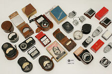 20pcs Rare Leicameter Leica Selenium Light Meters Complete Collection c1933-1957