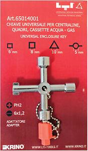 chiave universale multiuso per apertura cassette di contatori acqua luce gas