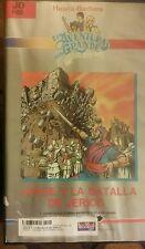LA AVENTURA MAS GRANDE PASAJES DE LA BIBLIA. JOSUE JERICO.  RARE SPANISH VIDEO