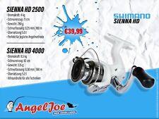 Shimano Sienna HD 2500 und 4000 Spinnrolle | Exklusiv und nur bei uns!