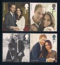 ROYAL WEDDINGS - PRINCE WILLIAM & KATE MIDDLETON + PRINCE HARRY & MEGHAN MARKLE