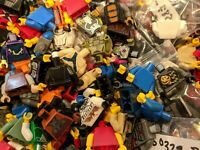 100% GENUINE LEGO Lot Of 20 Minifigure Torsos Minifig Bulk Mixed Various Flesh