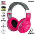 Polaroid Bluetooth Wireless Headphones   Dynamic Stereo Headset with Microphone