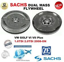 Para VW Golf VI VII Plus 1.6 TDI 2.0 TDI 2008-ON Sachs DMF Doble Masa Rígida Volante
