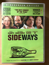 Paul Giamatti SIDEWAYS ~ 2004 Wine Snob Comedy Classic US Region 1 DVD