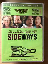 PAUL GIAMATTI Sideways ~ 2004 Vino EU Comedia Clásica US Region 1 DVD